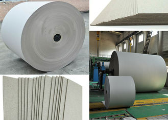 670gsm Grey Paper Roll for printing industry / bottled water plate / statinery / boxes